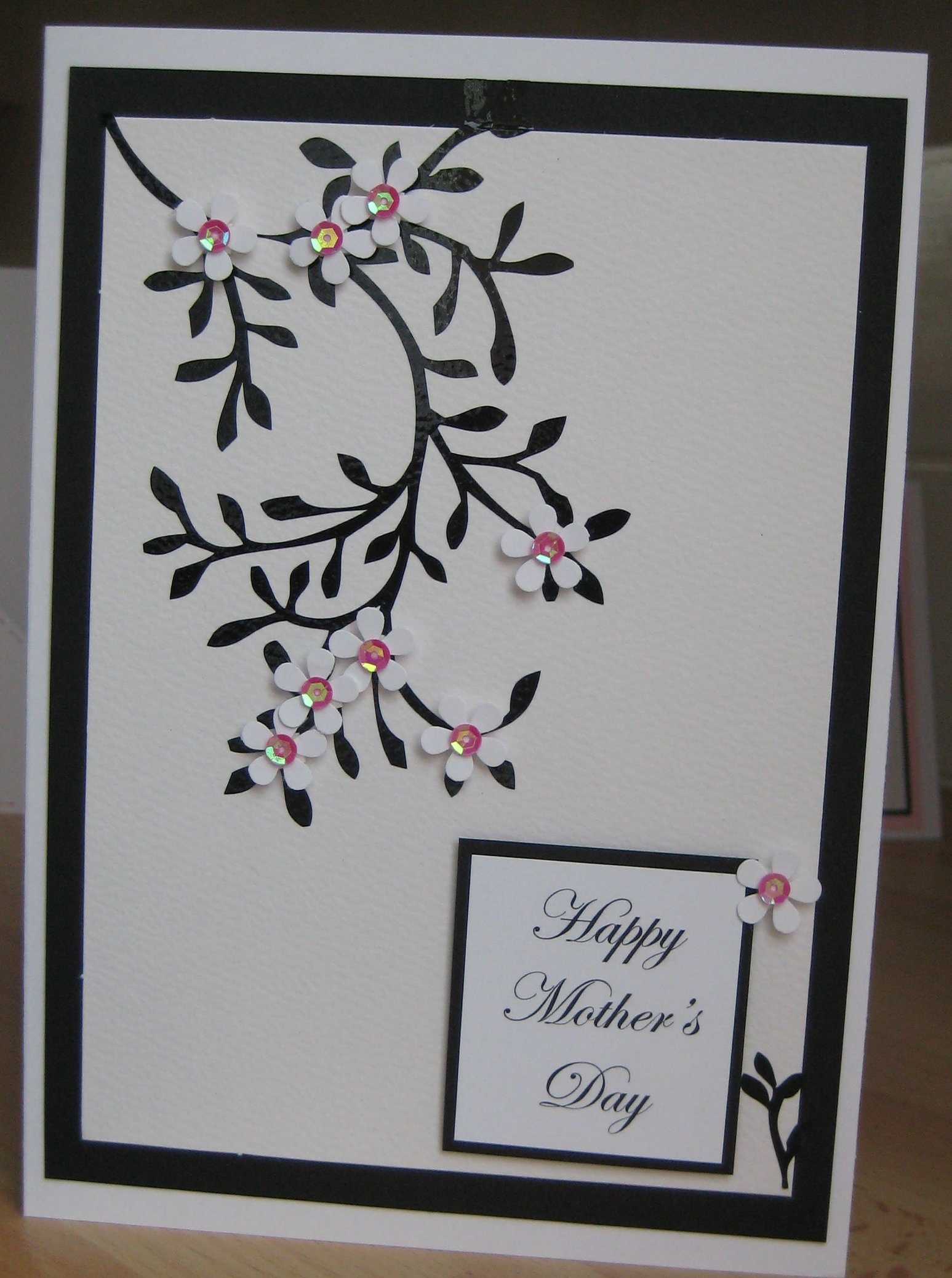 handmade mothers day card  flickr  photo sharing