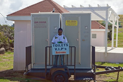 vehicle, public toilet, portable toilet, shed,