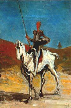 daumier Don Quichotte-2