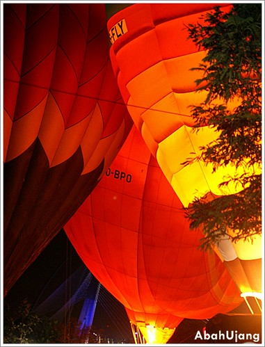 Hot Air Ballons - Night Glow