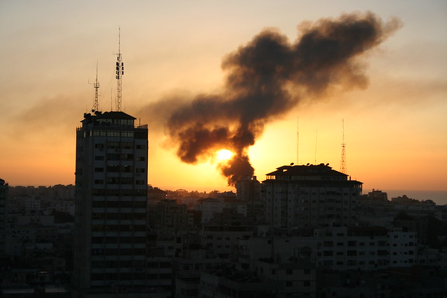 Gaza Burns from Flickr via Wylio