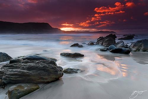 ocean sea sky seascape storm beach nature water rock sunrise coast cliffs shore tasmania nikond700 platinumbestshot