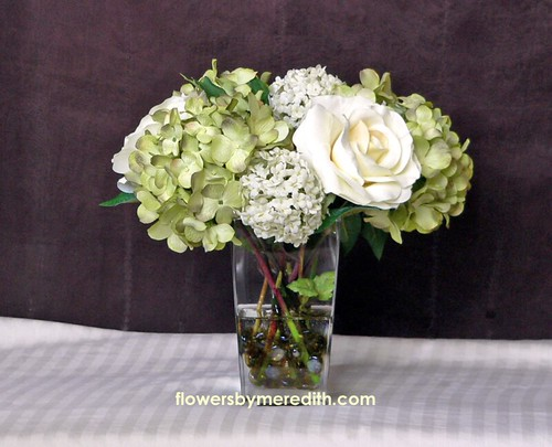 Silk Flower Arrangements For Kitchen Table