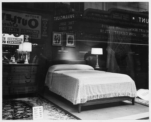 Store Window Display H H White 39 S Washington Street Bedroom Furniture A Photo On Flickriver