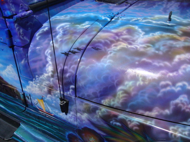 airbrush jeep closeup | Flickr - Photo Sharing!