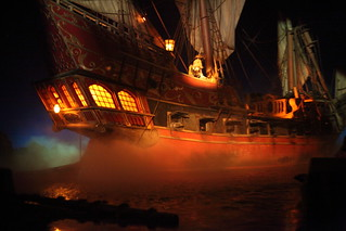 Pirates of the Caribbean - Pirate ship