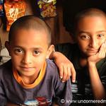 Guatemalan Boys with Big Eyes - Villa Nueva, Guatemala