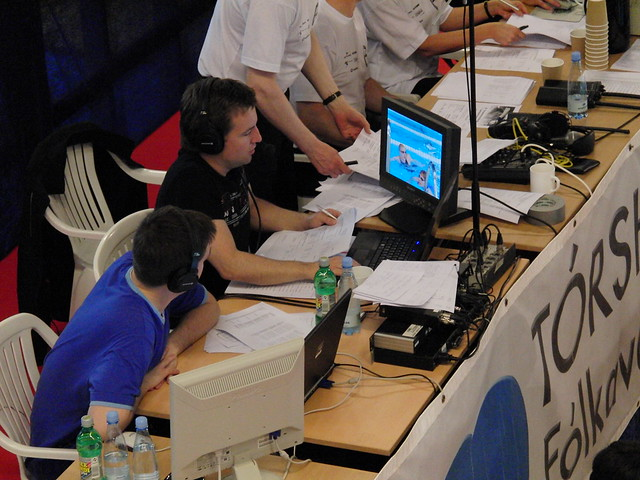 At work at the 2009 Faroese Championships