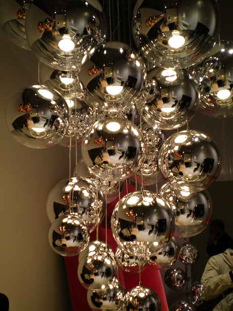 mirror ball pendant by tom dixon mirror ball pendant by to flickr photo sharing. Black Bedroom Furniture Sets. Home Design Ideas