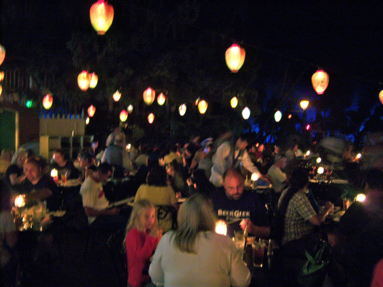 Blue Bayou Restaurant Menu