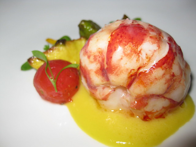 Butter Poached Lobster With Fresh Tomatoes Recipes — Dishmaps