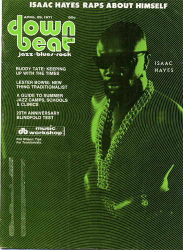 April 1971 Downbeat