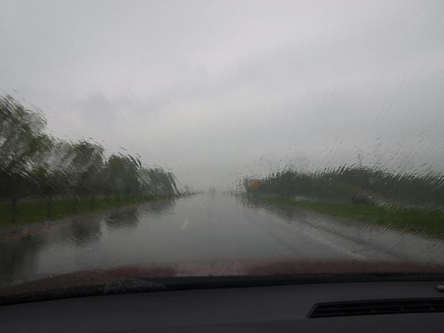 Driving through the Rain