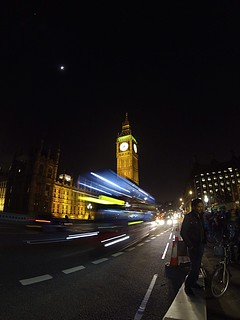 London in the night!