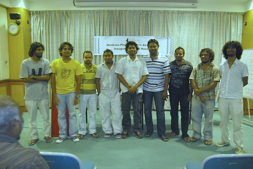 Maldives Photographers Association Board Members