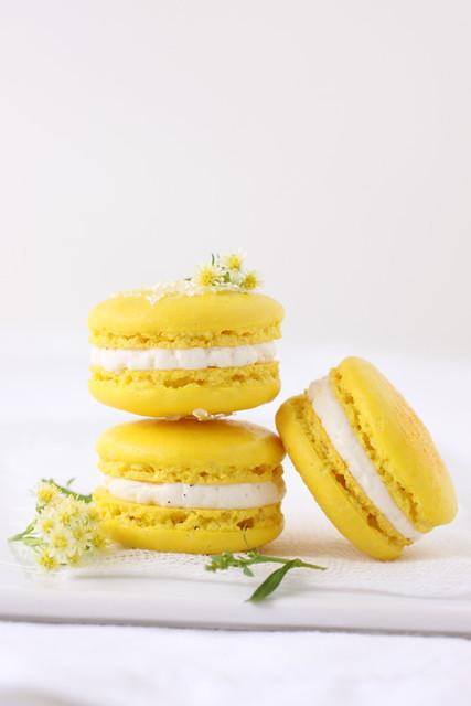 meyer lemon macarons | Flickr - Photo Sharing!