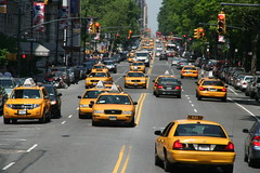 taxi, automobile, traffic, vehicle, lane, land vehicle, luxury vehicle, traffic congestion, motor vehicle,