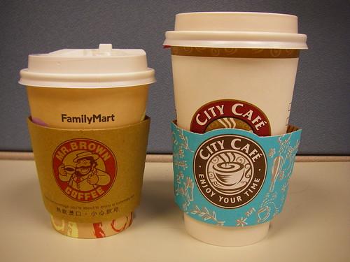 全家 vs 7-11 咖啡