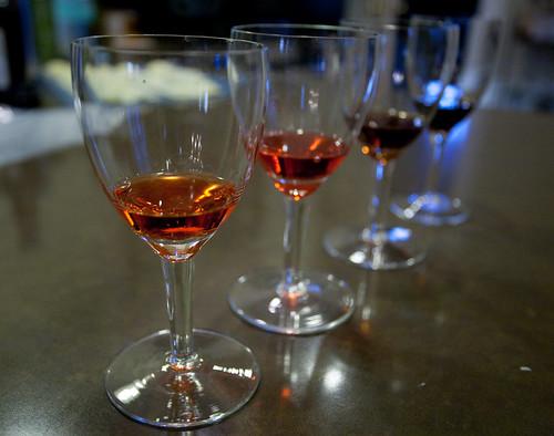 Amaro tasting