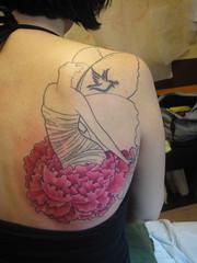 Butterfly Girl In Progress