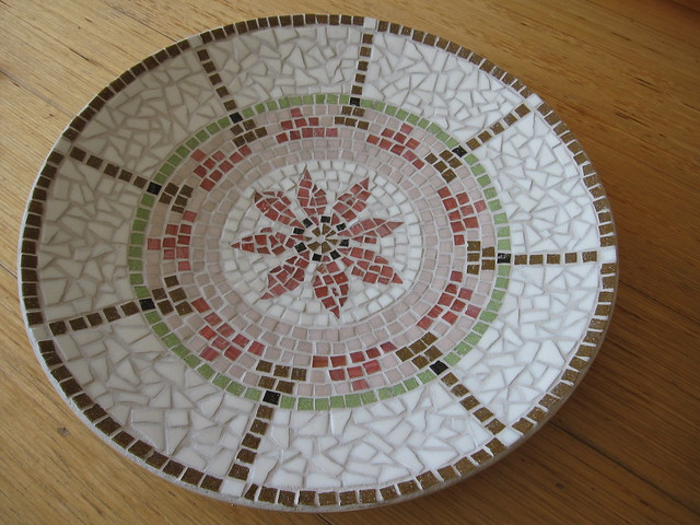 Mosaic dish | Flickr - Photo Sharing!