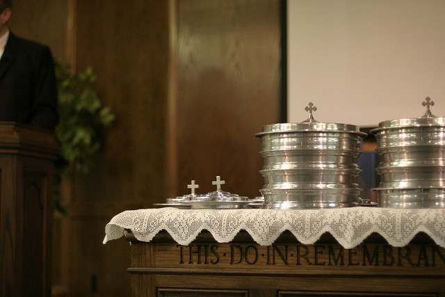 Communion Table   Flickr - Photo Sharing!