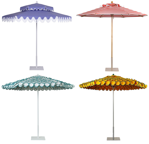 Colorful And Frilly Outdoor Umbrellas Flickr Photo Sharing