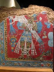 Cacaxtla Wall Painting