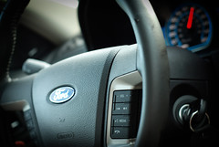 automobile, vehicle, steering wheel, ford motor company, ford, land vehicle, luxury vehicle,