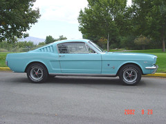automobile, automotive exterior, vehicle, first generation ford mustang, ford, classic car, land vehicle, muscle car, sports car,