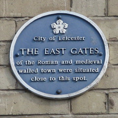 Photo of East Gates, Leicester blue plaque