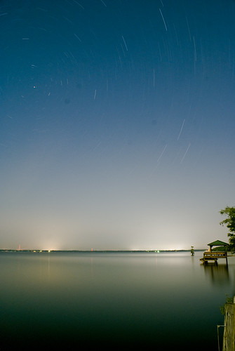 Star Trails on Caddo | by Arete13