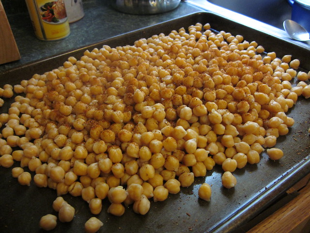 roasted chickpea snack | Flickr - Photo Sharing!