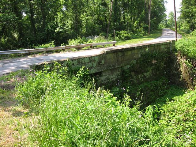 Stone bridge on Panhandle Rd.