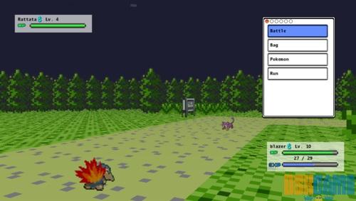 Duelos en Pokemon 3D
