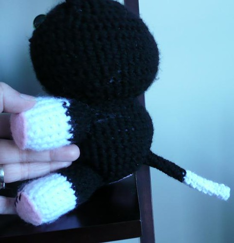 Amigurumi Kitty tail