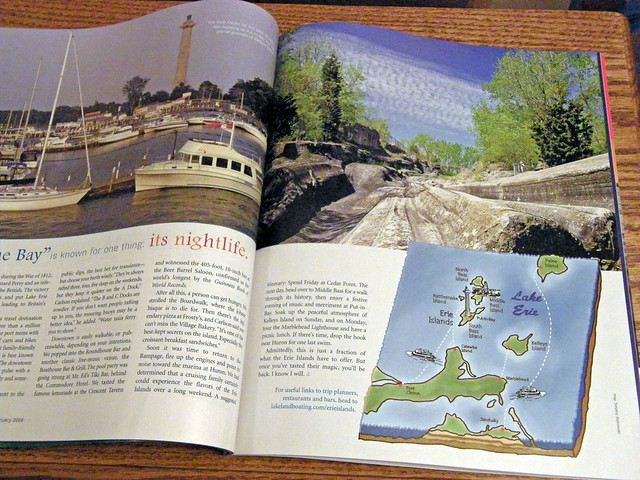 Photo Published in Lakeland Boating Magazine