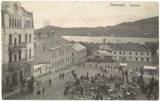Östersund - Stortorget (ca. 1915)