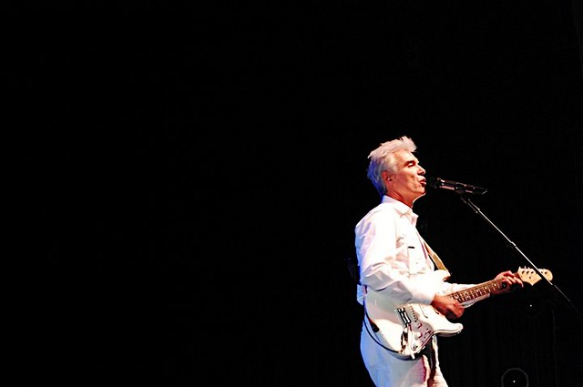 Header of David Byrne