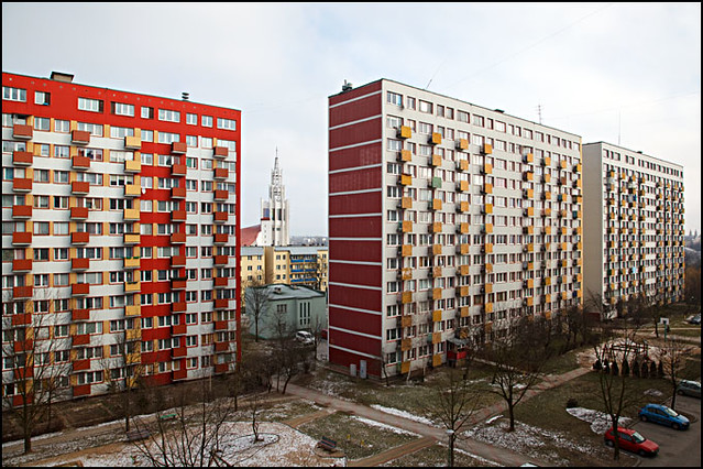 residential blocks - Bialystok Poland