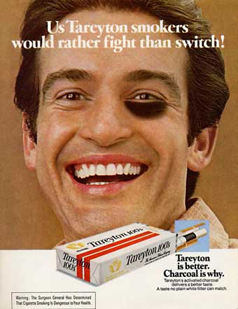Us Tareyton smokers would rather fight than switch! | Flickr - Photo ...