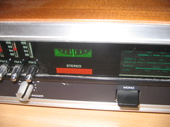 communication device(0.0), cassette deck(0.0), audio receiver(1.0), electronic device(1.0), electronics(1.0), radio receiver(1.0),