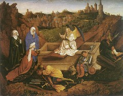 The Three Marys at the Tomb by Hubert van Eyck