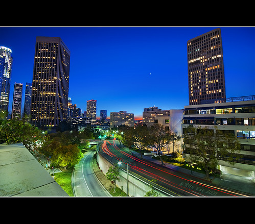 Los Angeles Blue Hour