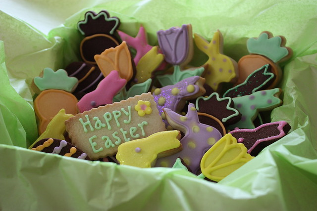 Easter Cookies Gift Boxed