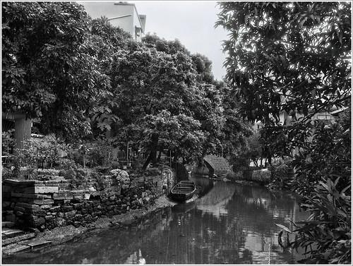blackandwhite 120 film mediumformat 645 d76 negative bronica 黑白 65mm rf645 乐凯 负片 小洲 胶卷 中画幅 wateryvillage