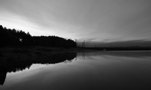 blackandwhite bw white black water clouds sunrise fishing reservoir wachusett wachusettreservoir