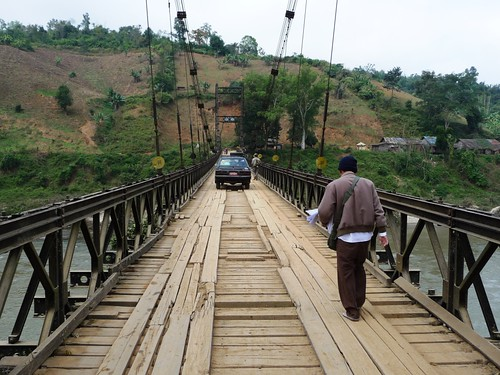 Old Shweli River Bridge - Namkham, Myanmar