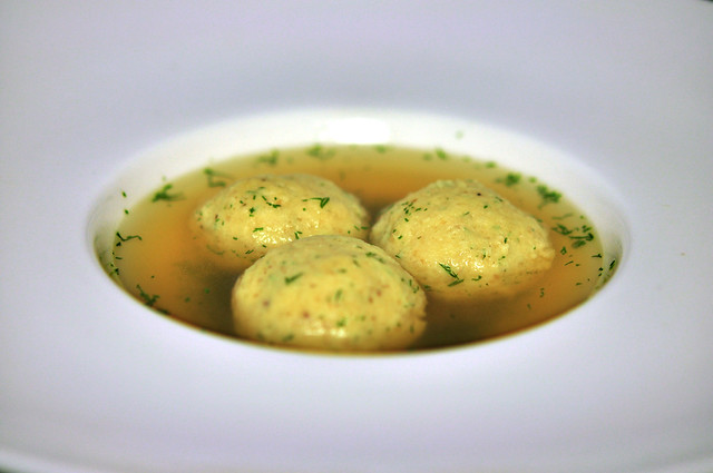 Comfort Food - Matzo Ball Soup