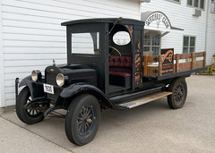 antique car(0.0), vintage car(0.0), automobile(1.0), vehicle(1.0), truck(1.0), ford model tt(1.0), light commercial vehicle(1.0), land vehicle(1.0), ford model t(1.0), motor vehicle(1.0),